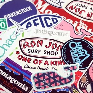 Pack of 10 - Random Selection of Preppy Stickers